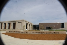 the new Mississippi Civil Rights Museum