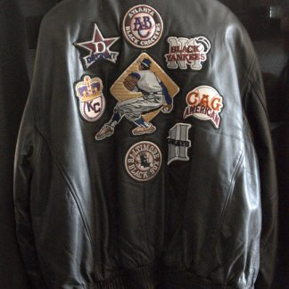 There are many designs of the Negro League jacket but this one is special due to its quality.